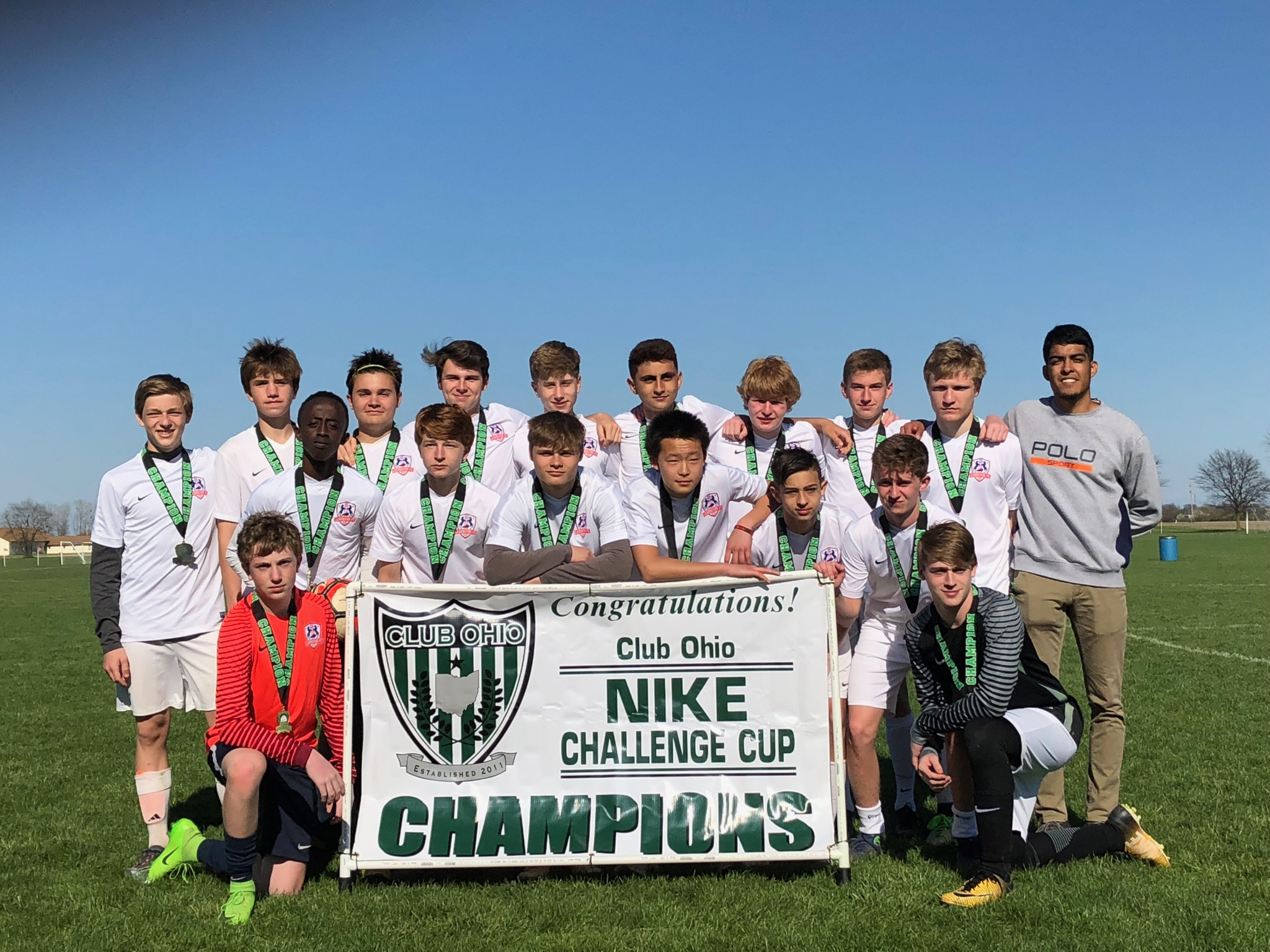 '02 Boys Red Win at Nike Cup!