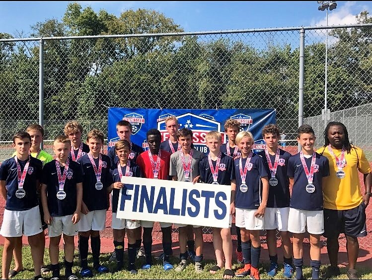 Lexington FC 2003 Boys White are Finalists at Battleground!