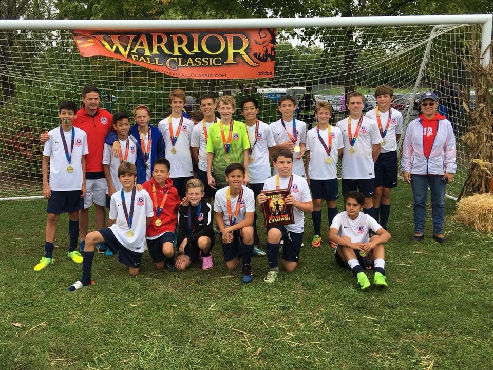 2004 Boys Blue Win at Warrior Classic!