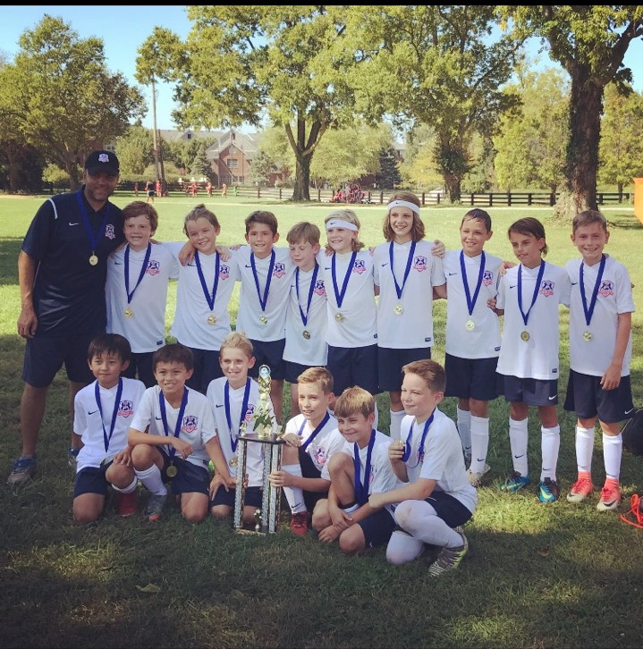 Lexington FC 2007 Boys Red are KY Fire Tourney Champs!