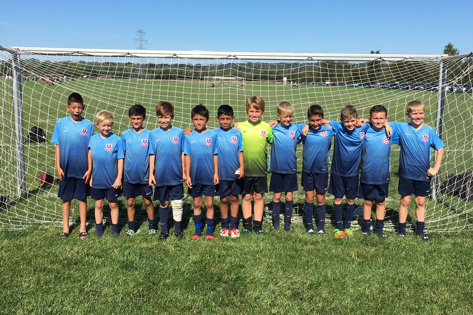 2007 Boys White Win Buckeye League!