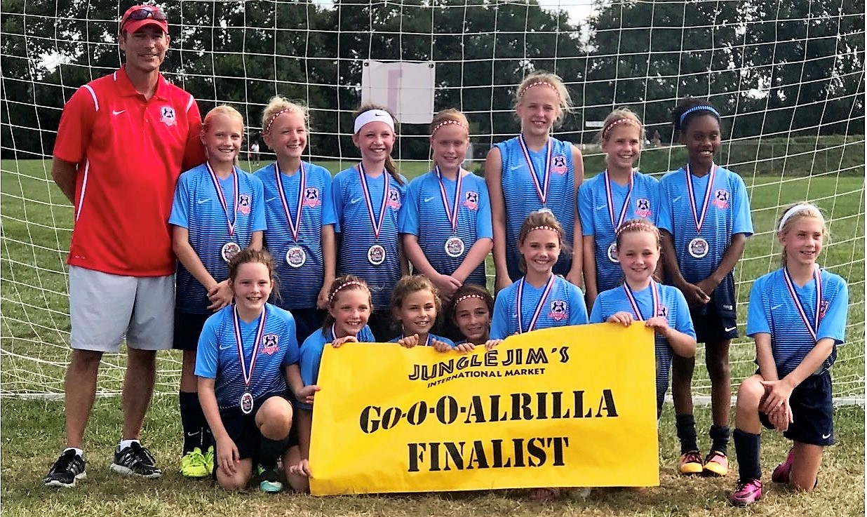 Go-o-o-alrilla Finalists, 2007 Girls Red!