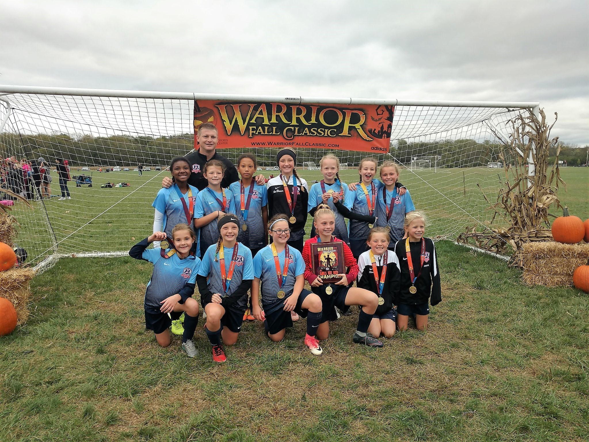 2007 Girls White are Warrior Classic Champs!